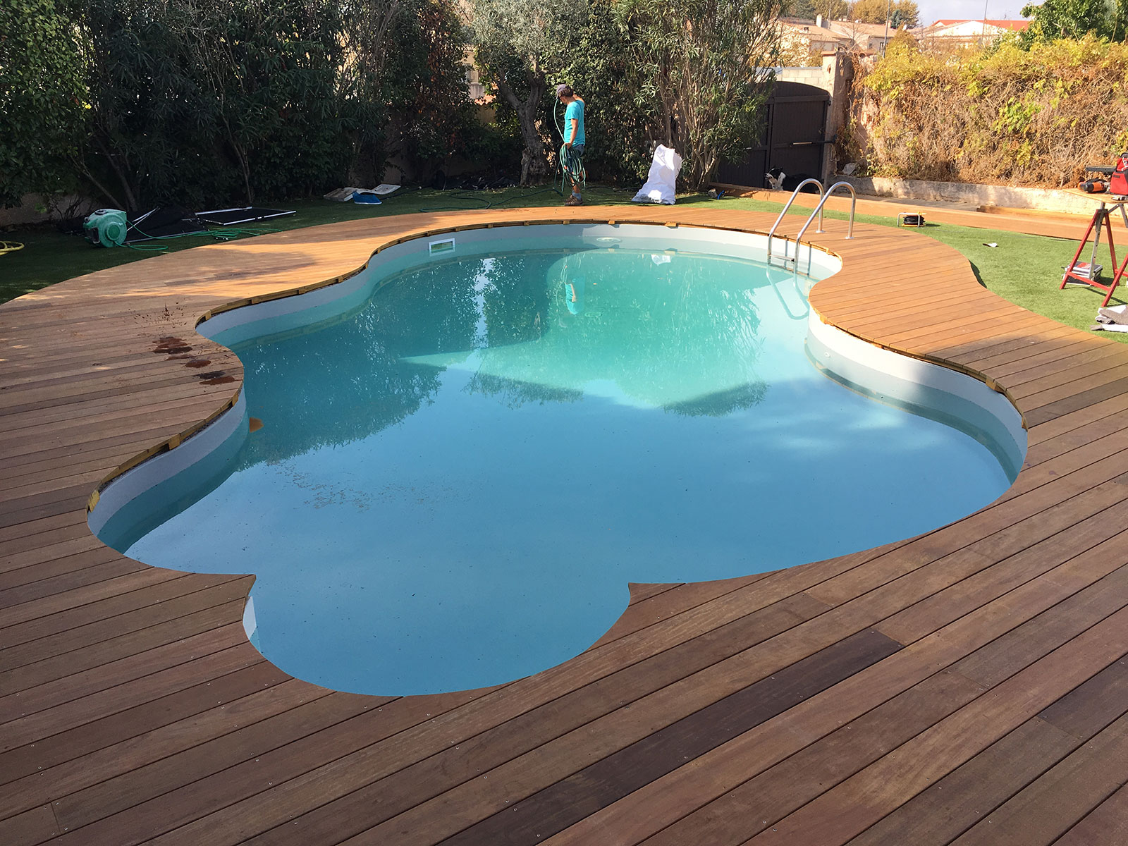 Picture of: Trappe Skimmer Sud Terrasses
